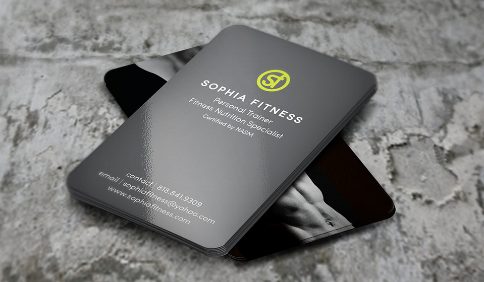 Fitness business cards choice image business card template fitness business card images business card template business cards design for gym choice image card design wajeb Choice Image